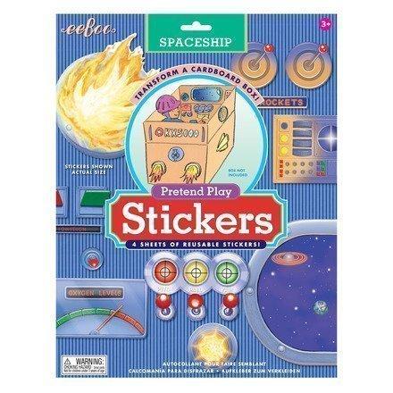 stickers spaceship 01