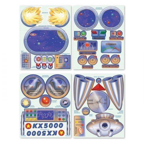 stickers spaceship 02