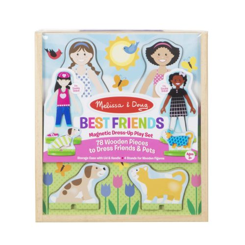 melissa and doug best friends magnetic dress up md19314 01