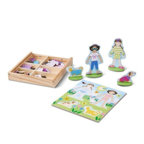 melissa and doug best friends magnetic dress up md19314 03