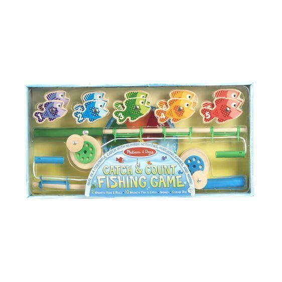melissa and doug catch and count magnetic fishing rod set 5149 01
