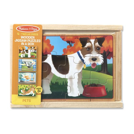 melissa and doug pets puzzles in a box 3794 01