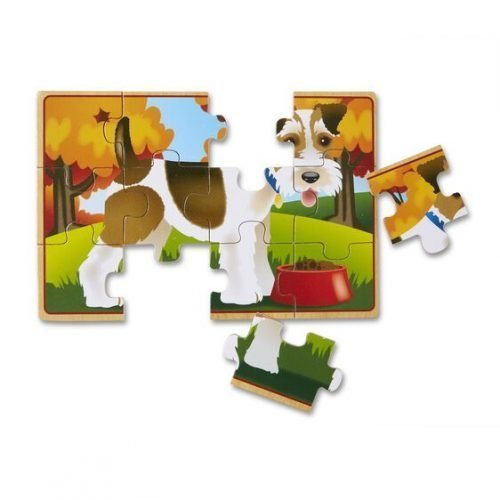 melissa and doug pets puzzles in a box 3794 04