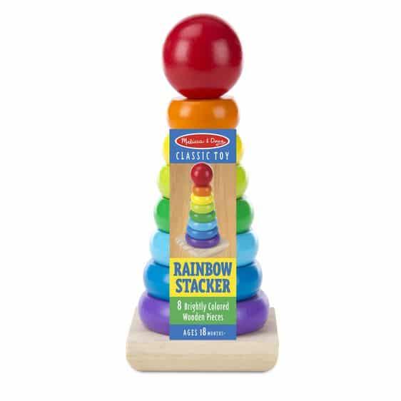 melissa and doug rainbow stacker 0576 01