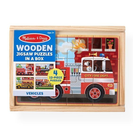 melissa and doug vehicles puzzles in a box 3794 01