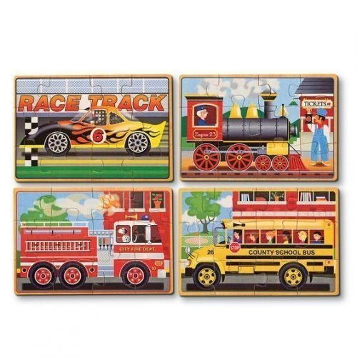 melissa and doug vehicles puzzles in a box 3794 02