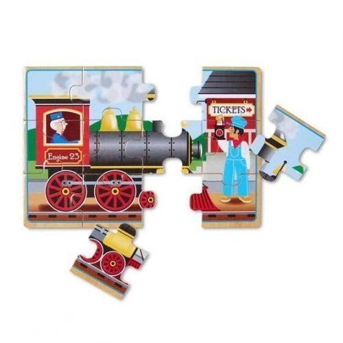 melissa and doug vehicles puzzles in a box 3794 03