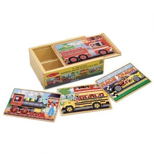 melissa and doug vehicles puzzles in a box 3794 04