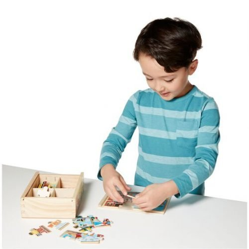 melissa and doug vehicles puzzles in a box 3794 05