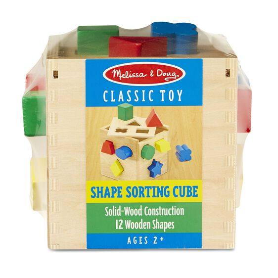 melissa and doug shape sorting cube 575 01