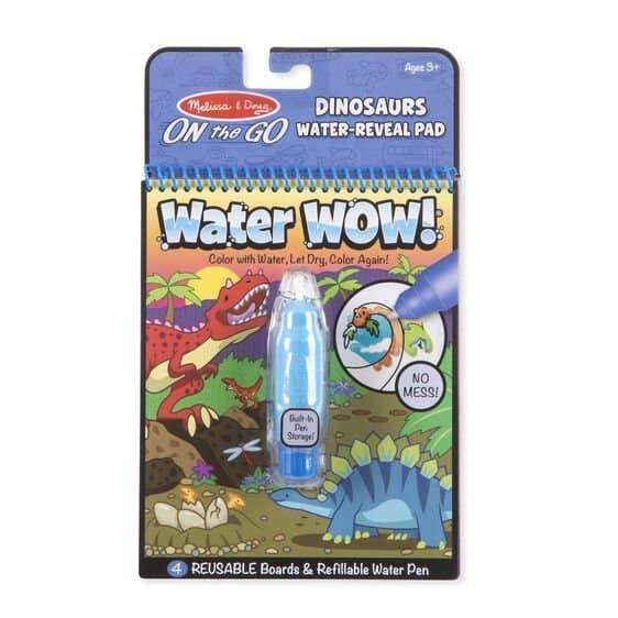 melissa and doug water wow dinosaurs 01